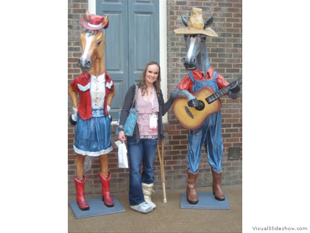 Thinking of starting a new country trio...waiting for the Opry to call.  :)