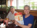 Trip to Red Robin's with my cousins Joan and Lowell.